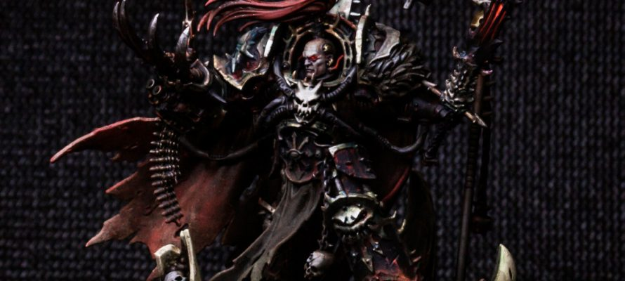 How to Paint: Black Legion - Abaddon the Despoiler