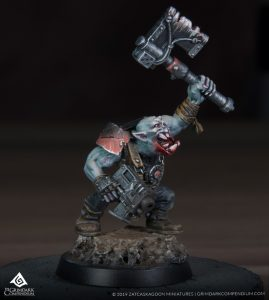 How to Paint: Ork Troops - Blood Mouths Clan by Quarter Paint