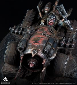 How to Paint: Ork Vehicles - Blood Mouths Clan by Quarter Paint